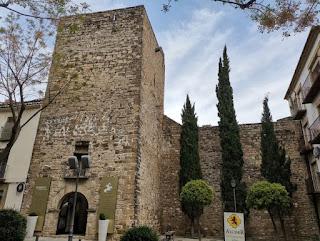 Restos de murallas y torres defensivas de Úbeda.