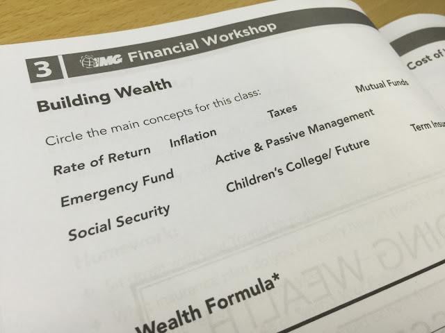 Workshop 3: Building Wealth & Asset Accumulation