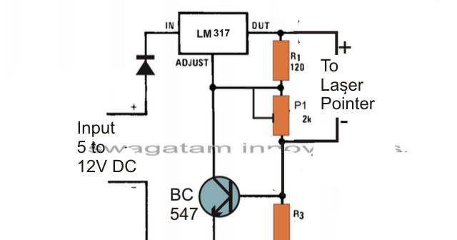 laser diode driver circuit diagram 24 12 2013