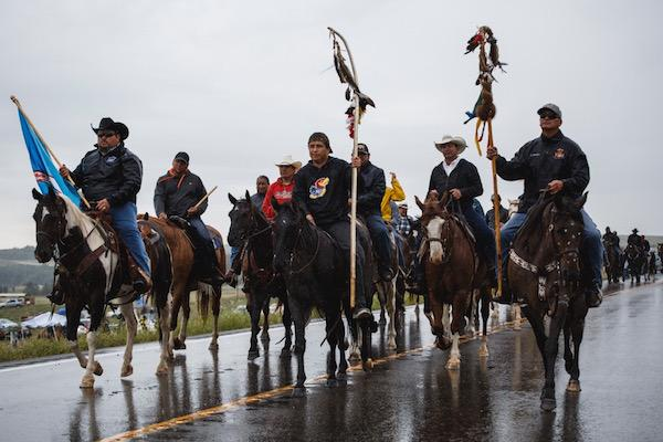 Tribal leader urges White House to stop pipeline on sacred Standing Rock Sioux Reservation
