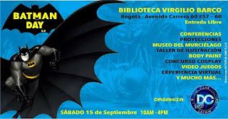 Día de BATMAN 2018 en Bogotá