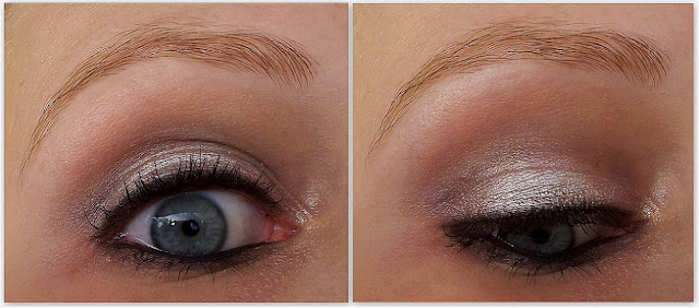 smokey eye weiß