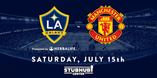 Susunan Pemain Manchester United vs LA Galaxy