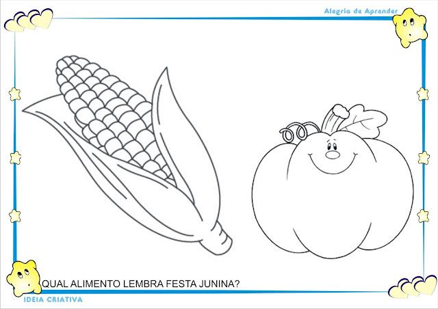 Atividades Projeto Festas Juninas Maternalzinho