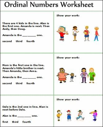 Common Worksheets » Ordinal Number Worksheets For First Grade ...