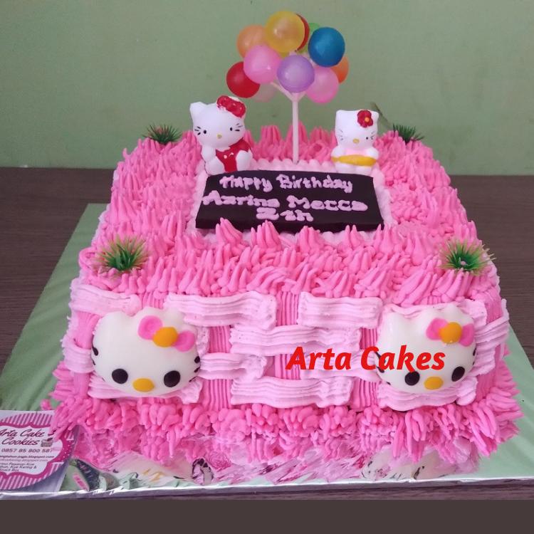 Harga Kue Ultah Hello Kitty Kue Ulang Tahun Bantul Dan