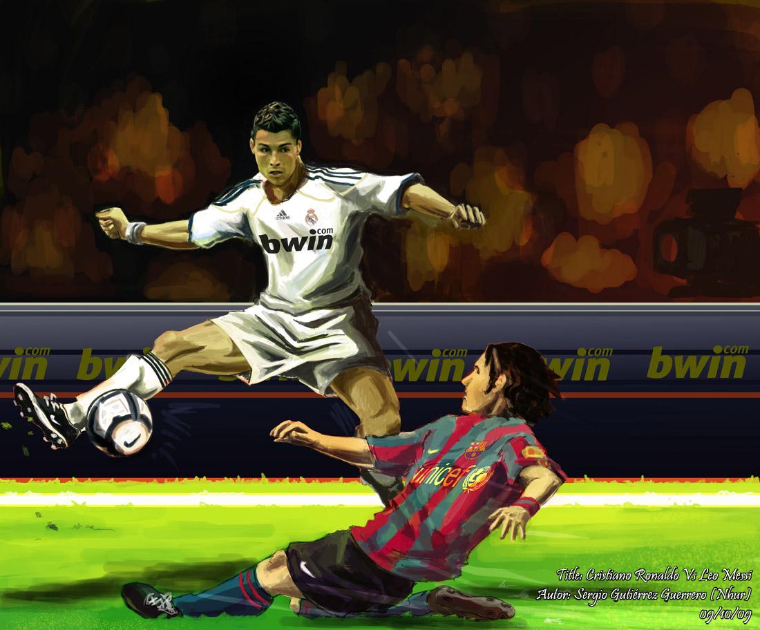 Foto Lucu C Ronaldo Vs Messi Terbaru Display Picture Unik