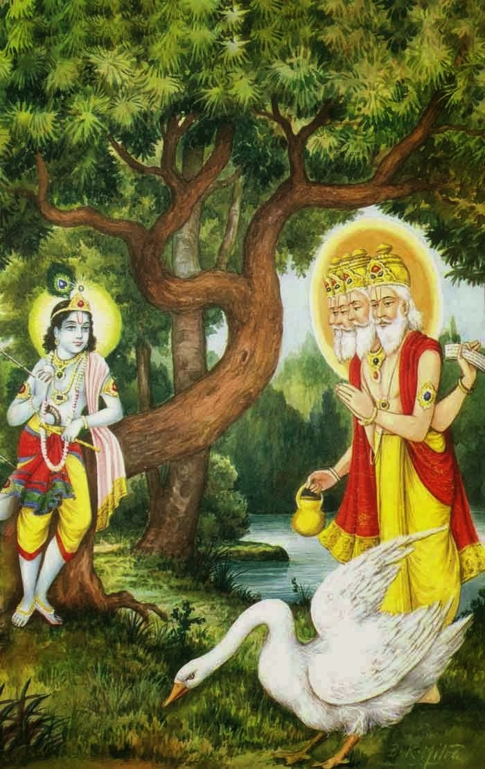 Sanskrit Of The Vedas Vs Modern Sanskrit: God Photos: Lord Brahma History And Wallpapers