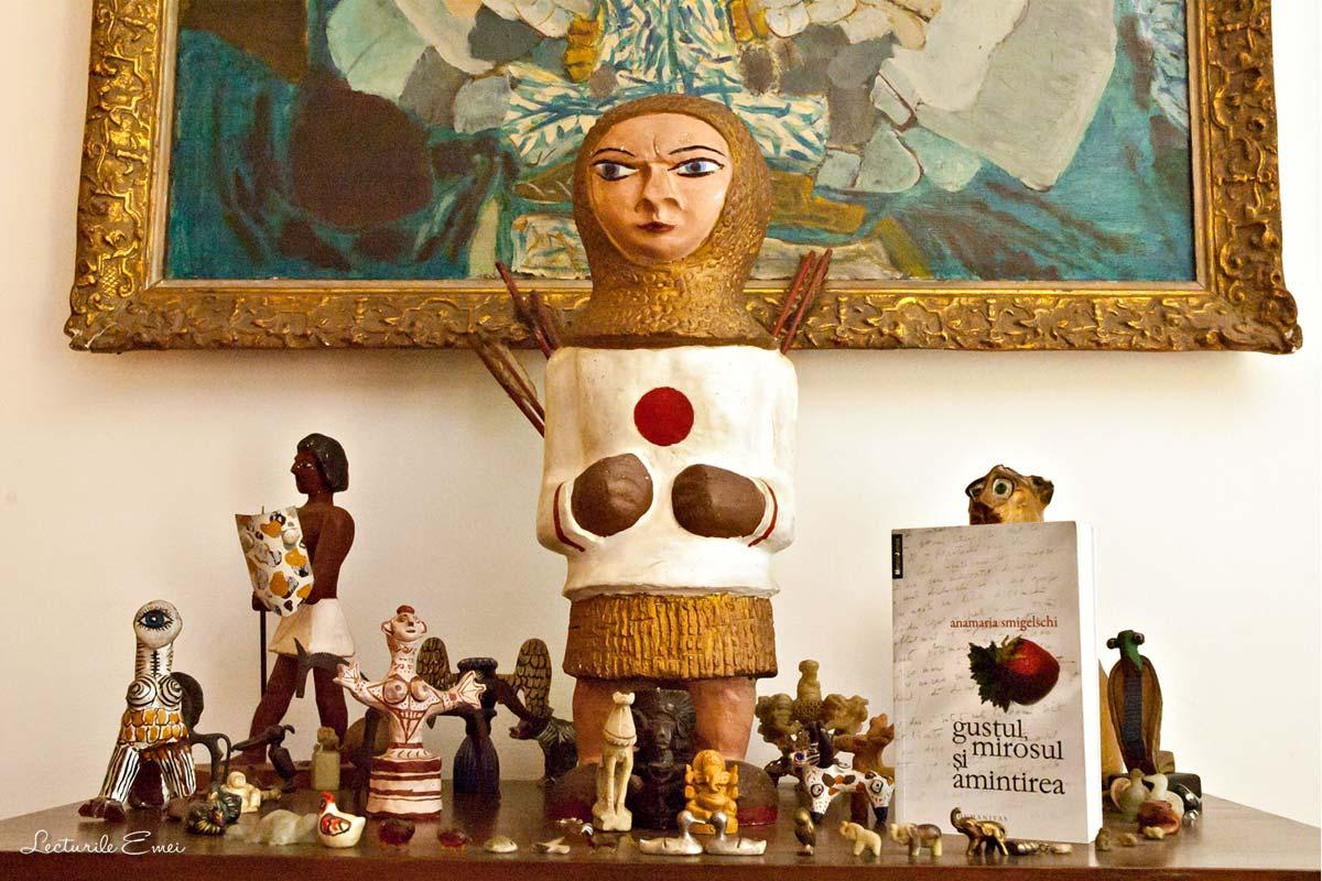 recenzie Gustul, mirosul și amintirea de Anamaria Smigelschi carte Humanitas