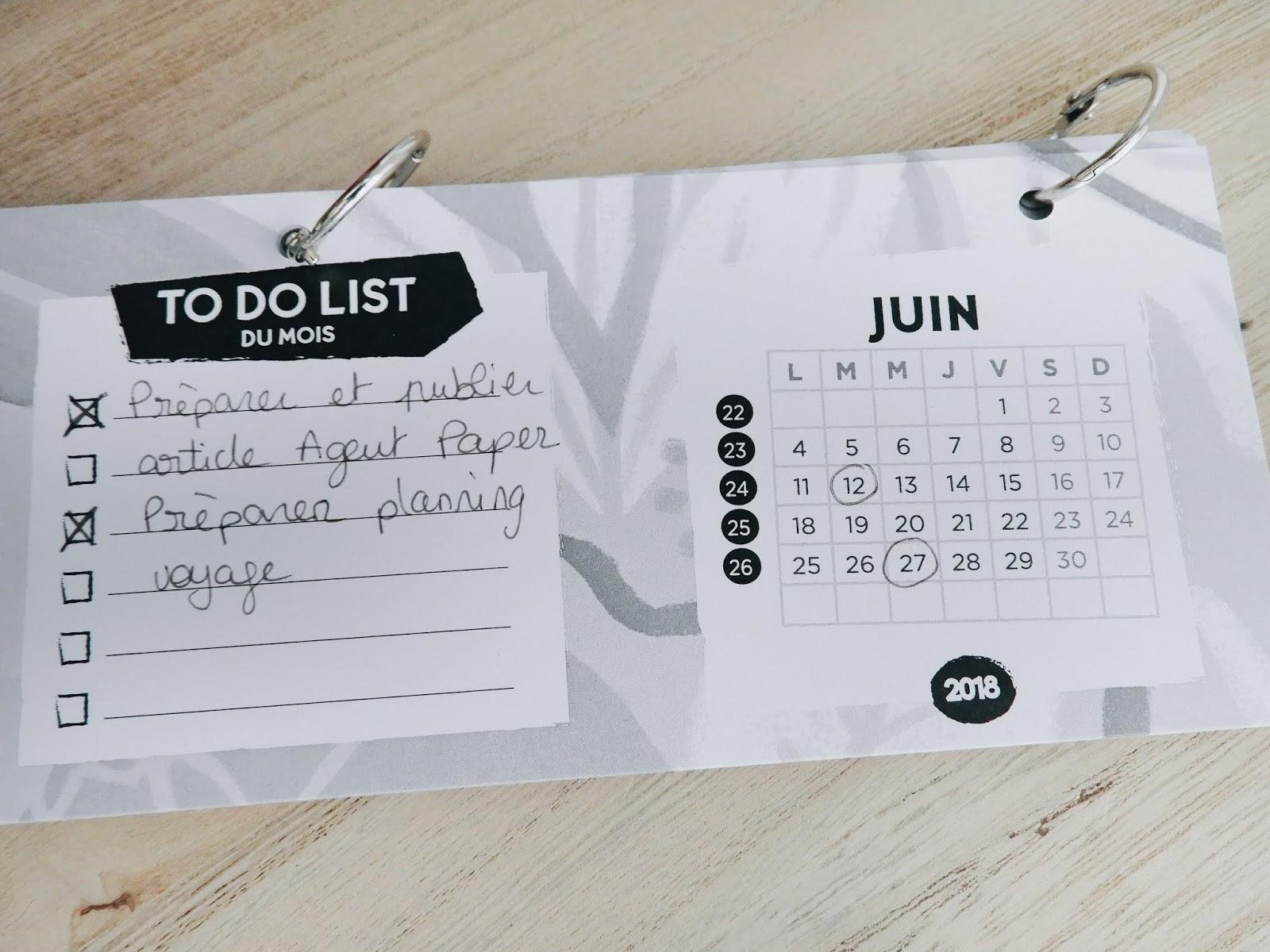 Month planner 2