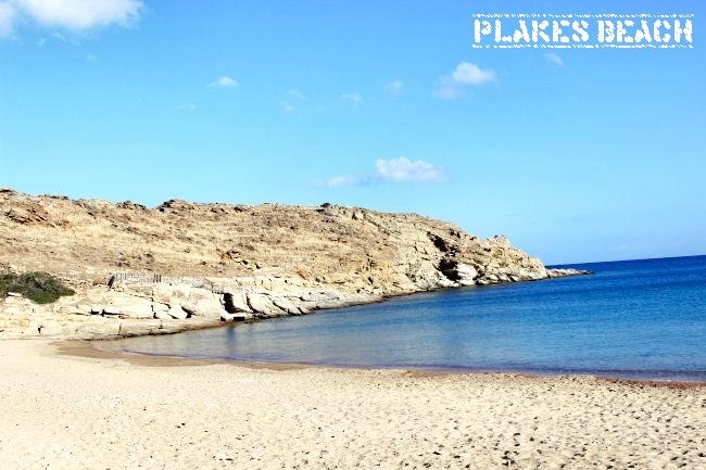 Plakes beach, Ios