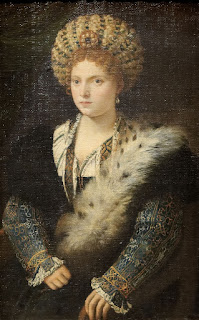 Titian's portrait of Isabella d'Este, housed at the Kunsthistorisches Museum, Vienna