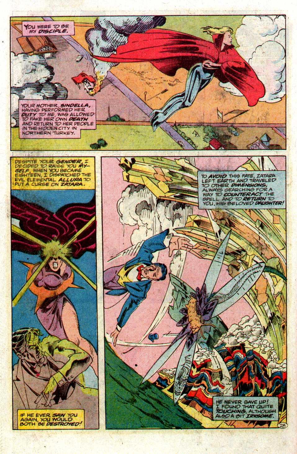 Read online Secret Origins (1986) comic -  Issue #27 - 29