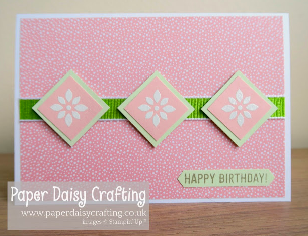 Jill & Gez Go Crafting Stampin' Up!  Tropical chic Detailed with love