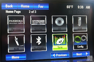 Chevrolet Volt Center Stack LCD Screen