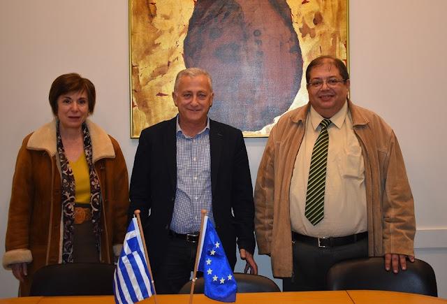 Συνάντηση Προέδρου Επιμελητηρίου κου Αλέκου Πάσχου με τον Αντιπρύτανη του Πανεπιστημίου Ιωαννίνων