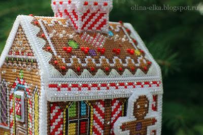 Пряничный домик от Панна: мои изменения