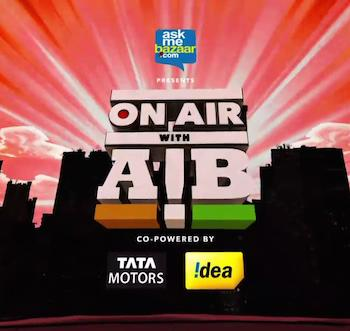 On Air With AIB Episode 10 Hindi 720p HDRip 190mb