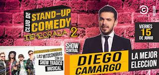 Diego Camargo: La mejor elección (Stand Up Comedy)