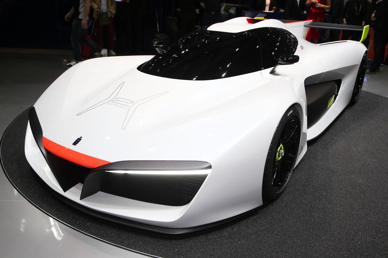 Pininfarina H2 Speed Concept có thiết kế theo phong cách ngoài hành tinh