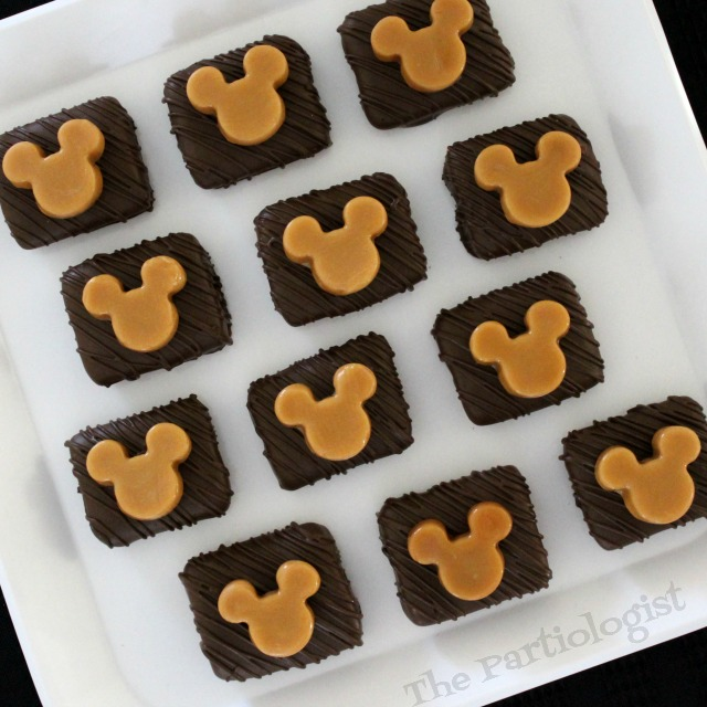 how to make caramel mickey mouse marshmallows