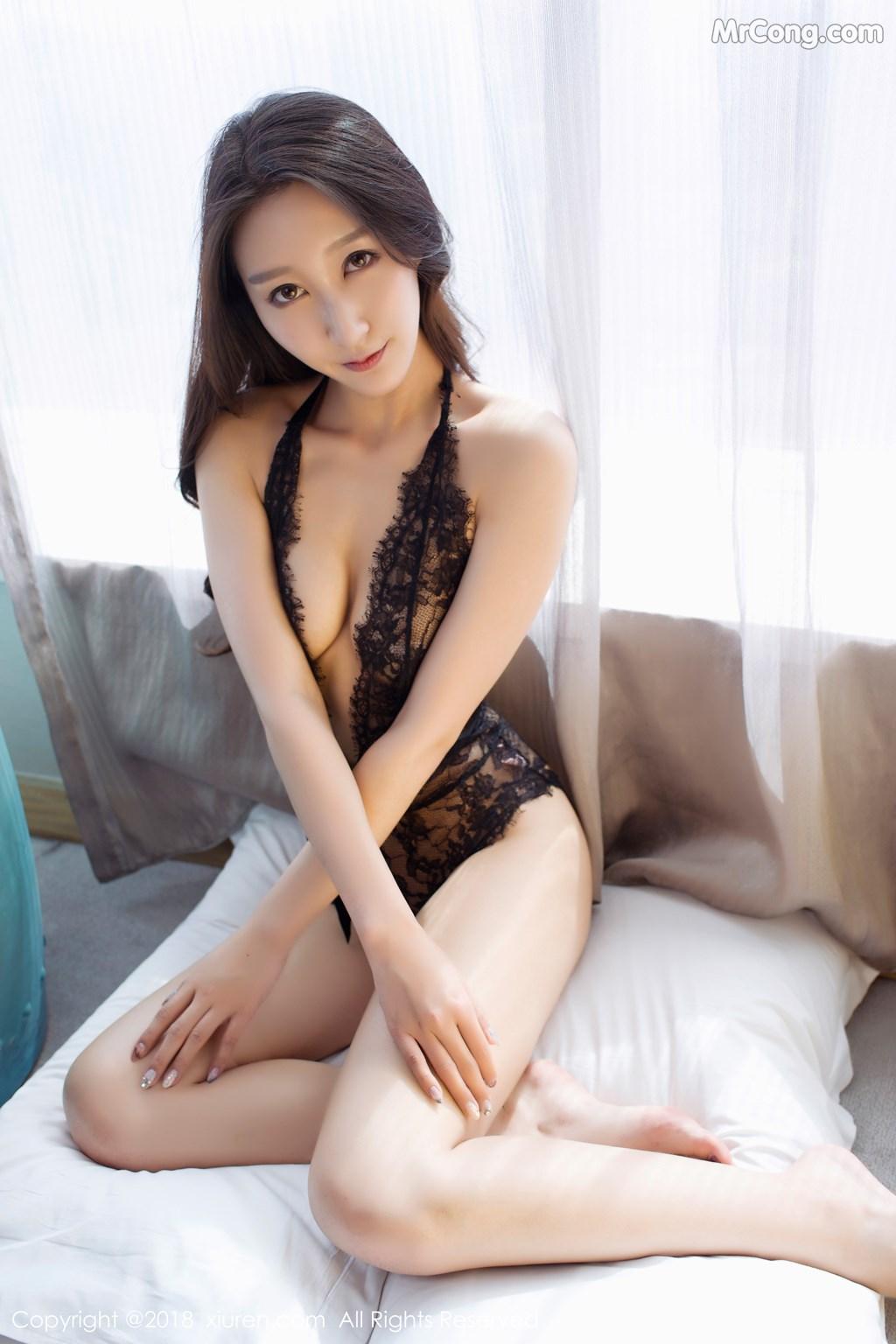 Image XIUREN-No.918-Zhao-Xi-Er-MrCong.com-003 in post XIUREN No.918: Người mẫu Zhao Xi Er (赵熙儿) (48 ảnh)