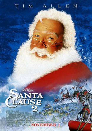 The Santa Clause 2 2002 BRRip 720p Dual Audio Hindi English