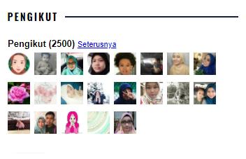 Follower ke - 2500