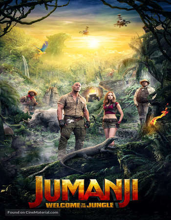 Jumanji Welcome to the Jungle 2017 Hindi Dual Audio BRRip Full Movie Download