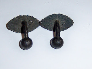 Antique Ball Back Cuff Links