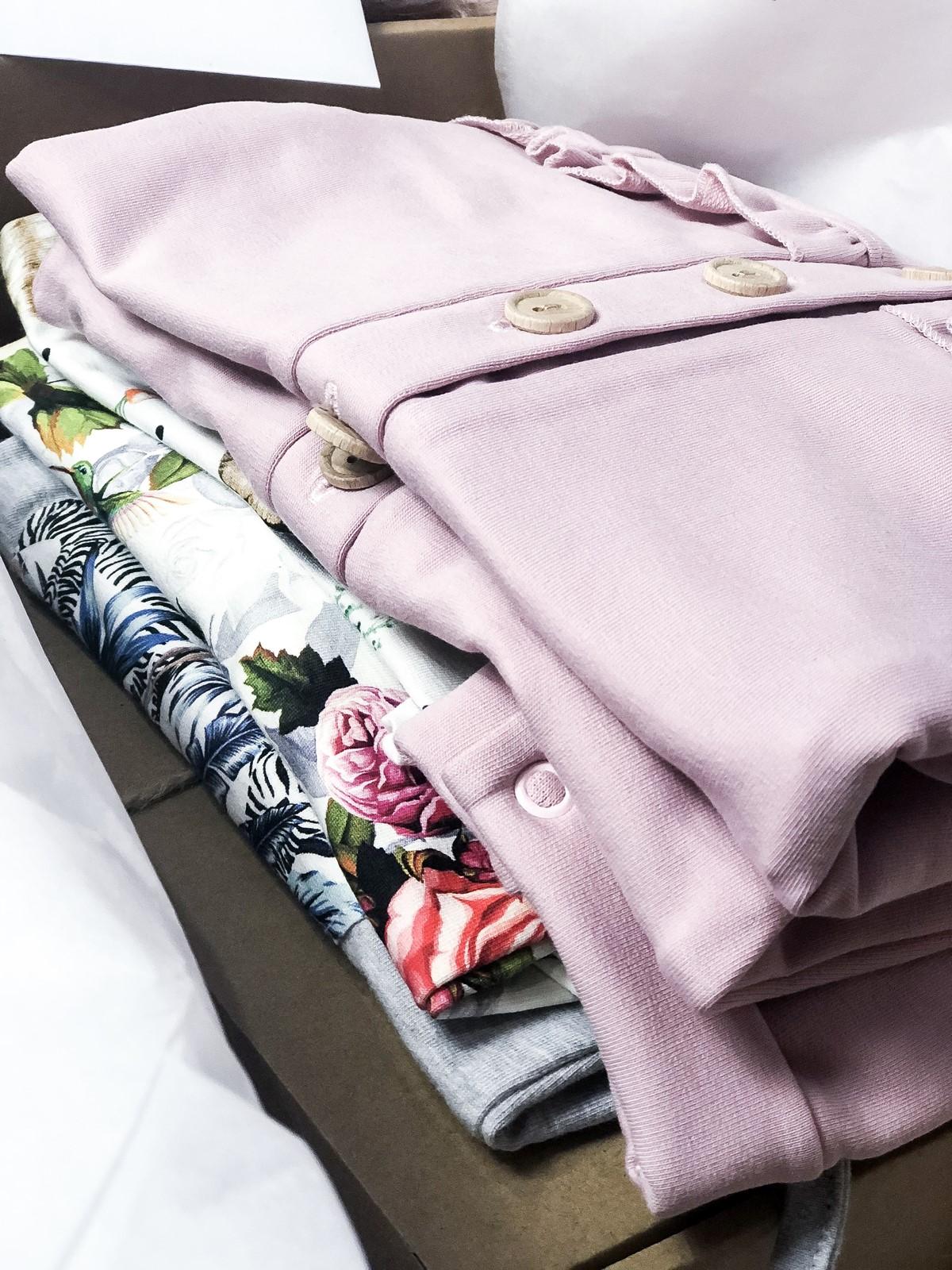 bawełniane ubranka dla niemowląt