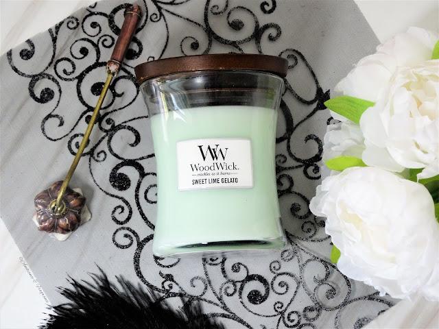 avis bougie sweet lime gelato woodwick candle