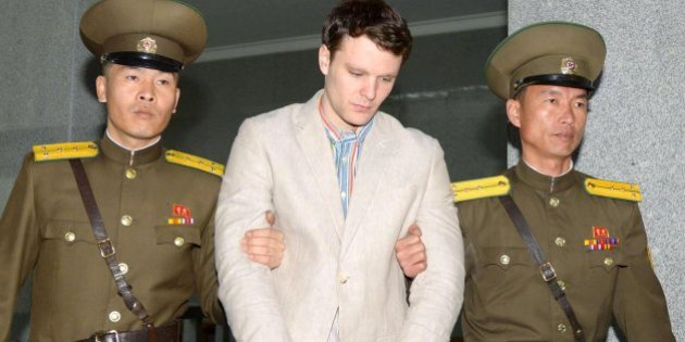 Otto Warmbier fue condenado a 15 años, desde marzo no tuvo contacto con sus parientes