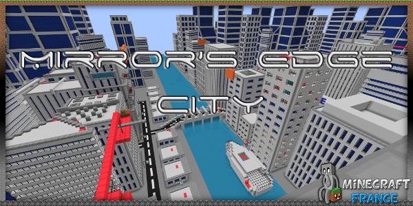 Mirror's Edge City [1 4 7] MineCraft Map ~ 1 4 7 / 1 4 8 / 1 4 9