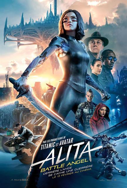 Film Alita Battle Angel L'Agenda Mensuel - Février 2019