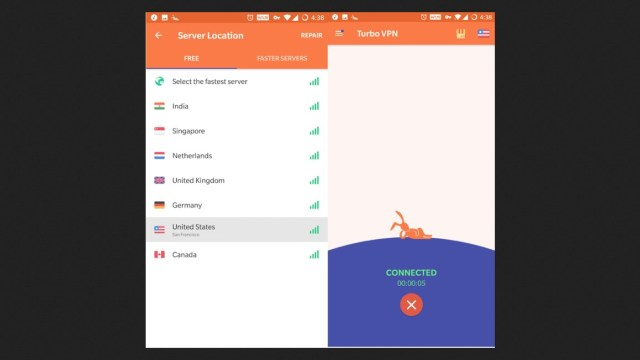 Turbo VPN Apk for Android Download Free Latest Version