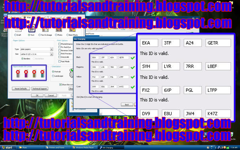 Epson 245 adjustment program free download