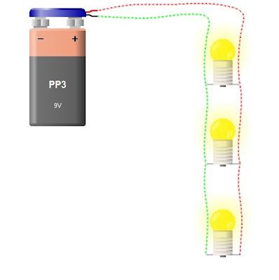 El circuito paralelo tiene circuitos independientes