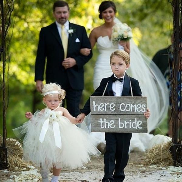 Wedding: come vestire i più piccoli