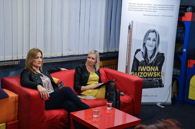 Po spotkaniu: Iwona Guzowska w Bibliotece Gdynia