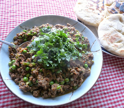 Keema Matar (Ground Meat Curry with Peas)