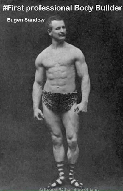 First Professional Body Builder Eugen Sandow
