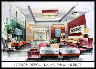 KalaPurnam Institute Interior Design Course in Ahmedabad