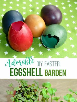 Easter Eggshell Garden