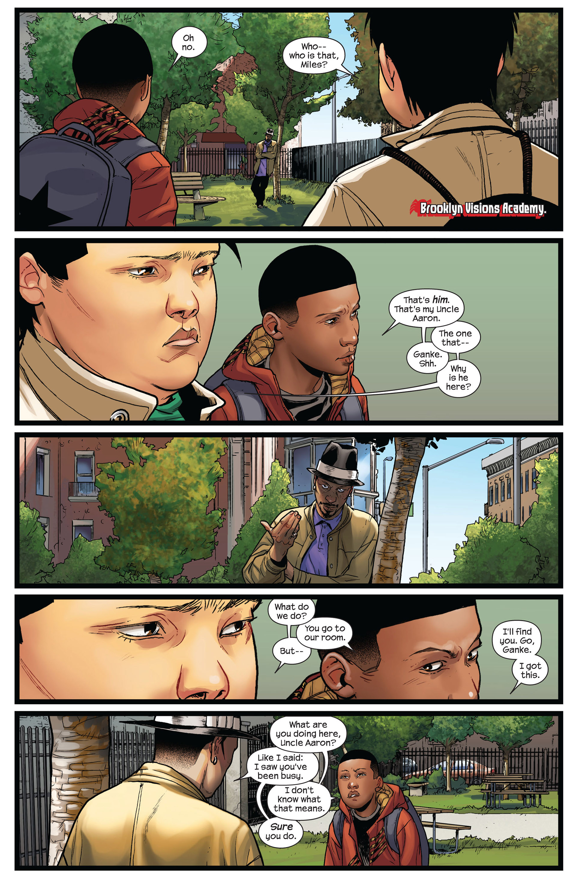 Read online Ultimate Comics Spider-Man (2011) comic -  Issue #8 - 5