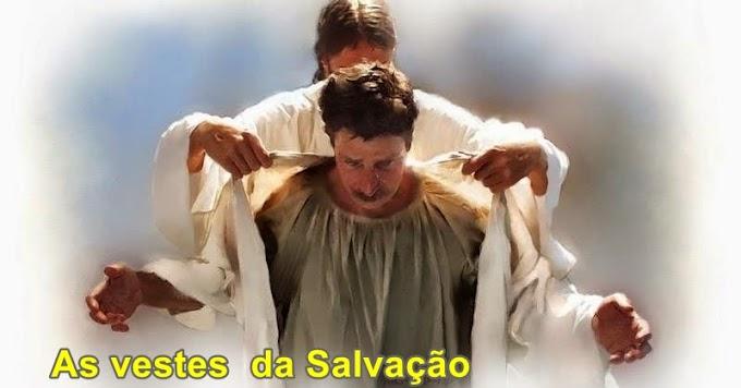 Josué e as vestes da salvação.