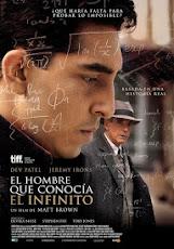 pelicula El Hombre que Conocía el Infinito (The Man Who Knew Infinity)(2015)
