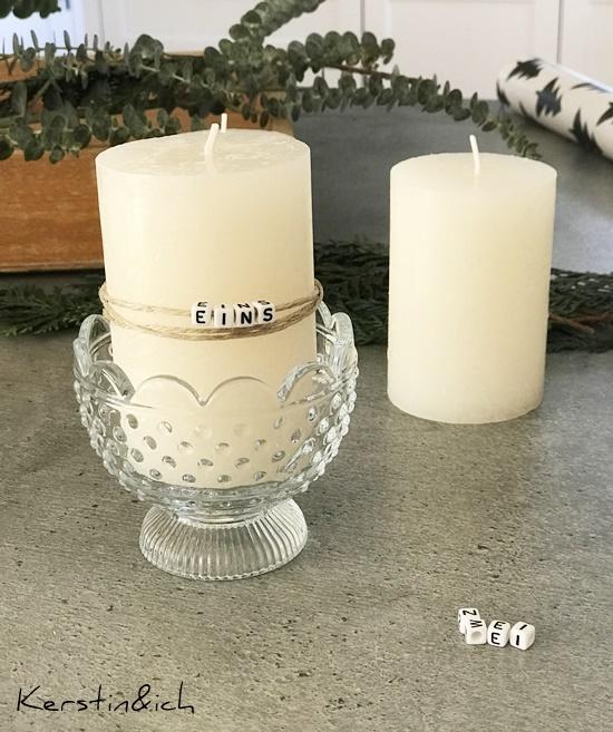 Adventskranz Deko Weihnachten Modern Advent Kerzen Moos Kiste Eukalyptus Sukkulenten