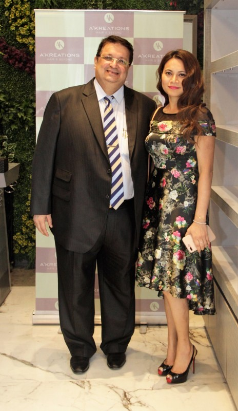 Waluscha De Sousa and Richa Chadha Grace The Reopening of A'Kreations Hair & Beyond Salon