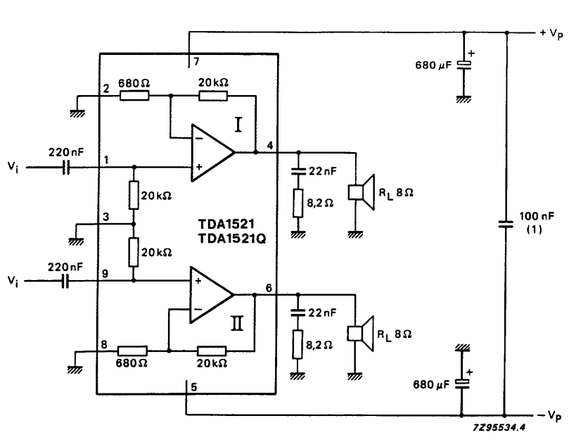 power amplifier ic tda2004
